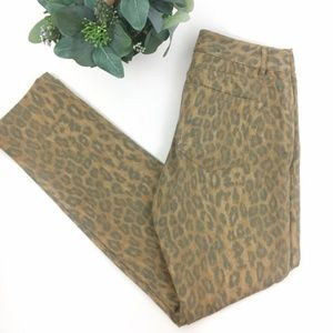 CHAPS | Leopard Print Slimming Skinny Jeans size 4